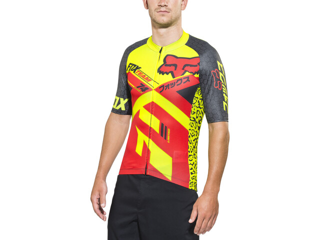 Fox Ascent Pro SS Jersey Herre red